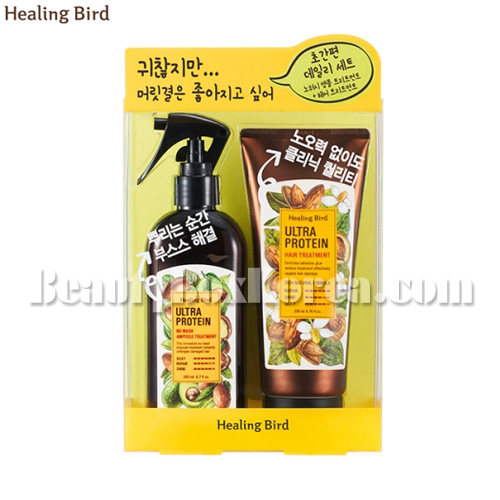 HEALING BIRD Ultra Protein Hair Care Duo Set 2items