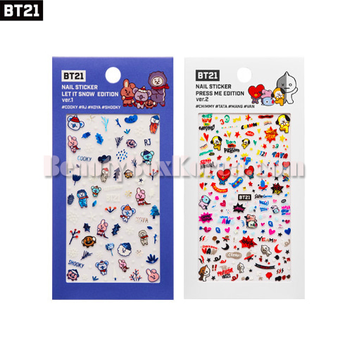 BT21 Nail Sticker 1ea[New Edition]
