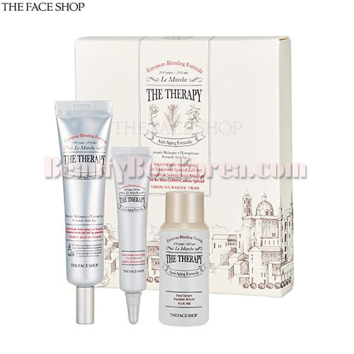 THE FACE SHOP The Therapy Anti-Aging Formula Eye Treatment Special Set 3items