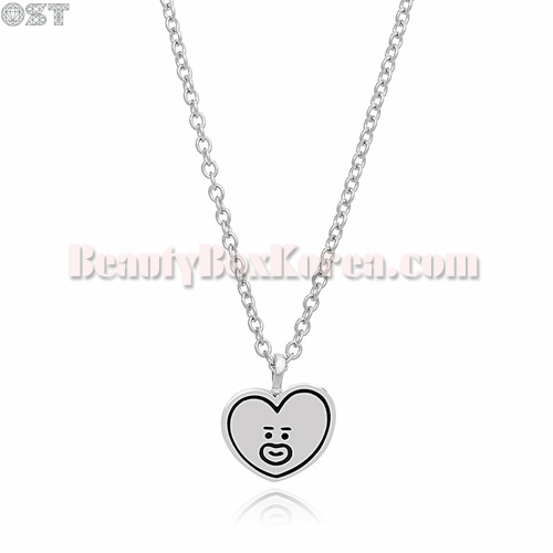 OST X BT21 Silver Necklace 1ea
