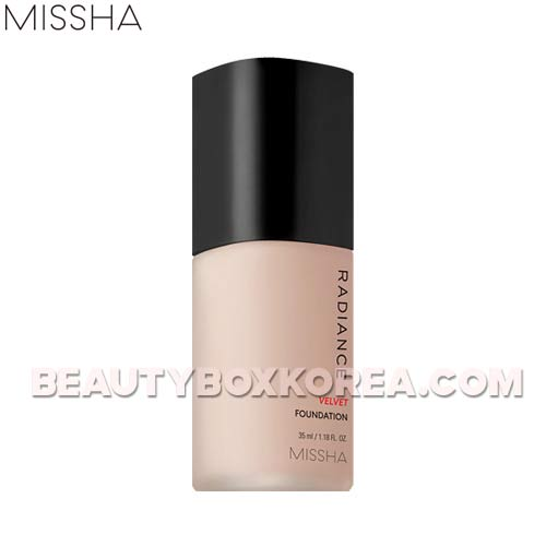 MISSHA Radiance Velvet Foundation SPF30 PA++ 35ml,MISSHA
