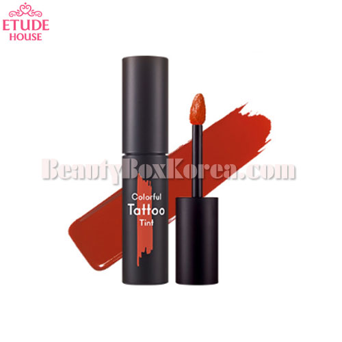ETUDE HOUSE Colorful Tattoo Tint 3.5g,ETUDE HOUSE