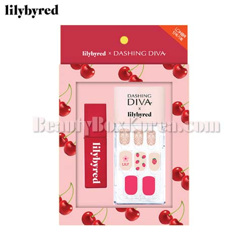 LILYBYRED Bloody Liar Coating Tint X DASHING DIVA Kit 2items