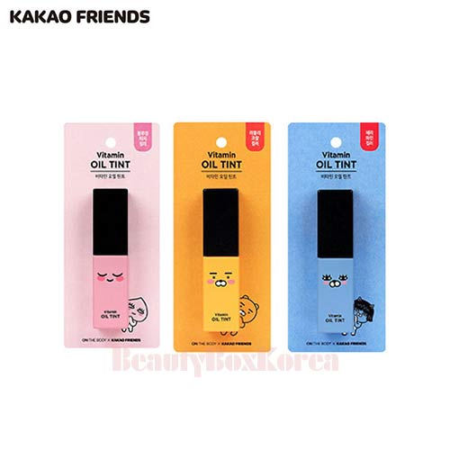 KAKAO FRIENDS On The Body Oil Tint 4.5g 1ea,LG HOUSEHOLD & HEALTH CARE Ltd.,Beauty Box Korea