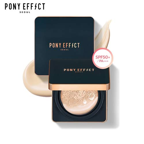 PONY EFFECT Everlasting Cushion Foundation 15g*2ea, PONY EFFECT