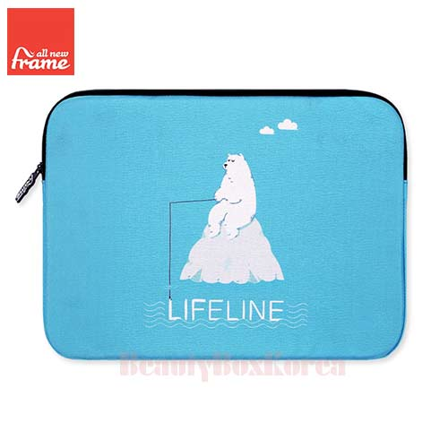 ALL NEW FRAME Life Line Tablet Pouch (iPad Air/Air 2,Galaxy Tap S2) 1ea,ALL NEW FRAM ,Beauty Box Korea