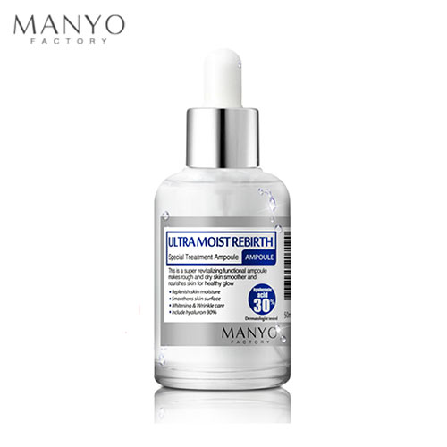 MANYO FACTORY Ultramoist Rebirth Ampoule 50ml, MANYO FACTORY