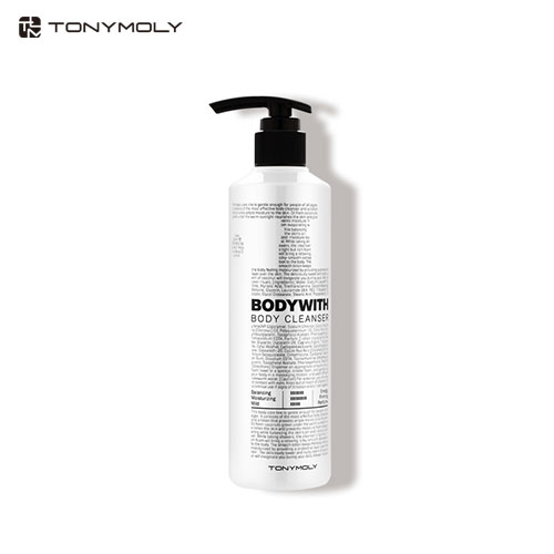 TONYMOLY Body With Moisture Body Cleanser 300ml, TONYMOLY