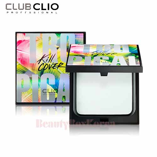 CLIO Kill Cover Airwear Skin Smoother Pact 12g [2017 Limited Edition],Beauty Box Korea