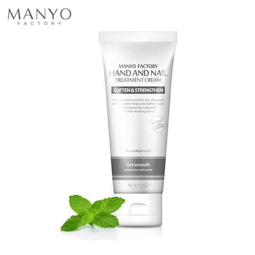 MANYO FACTORY Hand and Nail Treatment Cream(Soften and Smoothe) 60ml, MANYO FACTORY