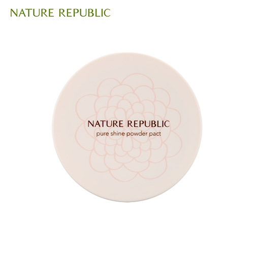 NATURE REPUBLIC Pure Shine Powder Pact 12g, NATURE REPUBLIC