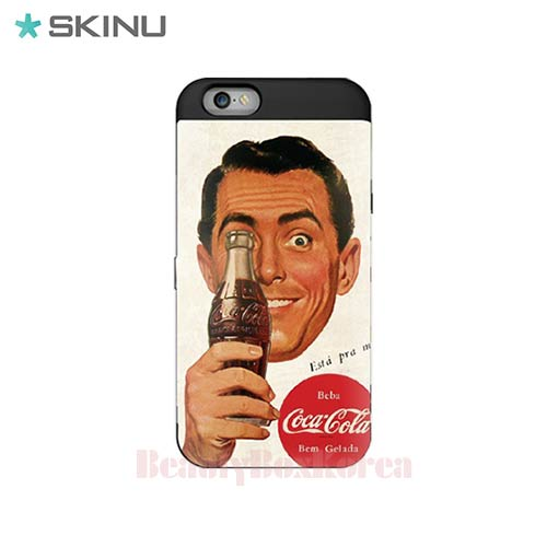 SKINU Coca Cola Card Bumper Phone Case Vintage,Beauty Box Korea