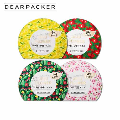 DEARPACKER Jeju Mask 23ml 1ea, DEAR PACKER