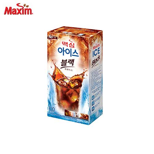 DONGSUH Maxim Ice Black Coffee Mix 6.2g x 100 Sticks, DONG SUH