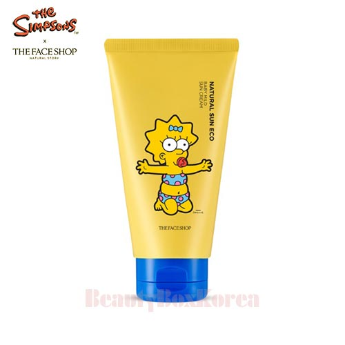 THE FACE SHOP Natural Sun Eco Baby Mild Sun Cream SPF30 PA++ 50ml [The Simpsons]