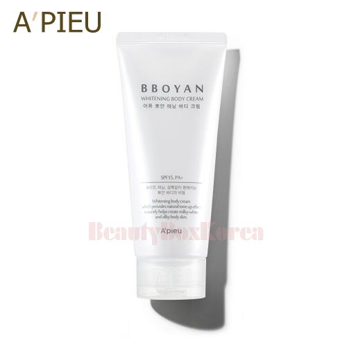 A'PIEU Bboyan Whitening Body Cream 130ml