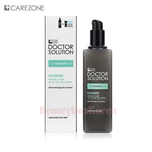 CARE ZONE Doctor R Homme Trouble All In One Gel Cream 160ml