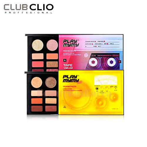 CLIO Play Mymy Prism Multi Palette 0.9g*14 [Play Mymy Collection]