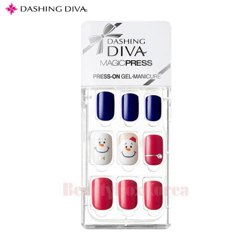 DASHING DIVA Magic Press Snow Man 1set