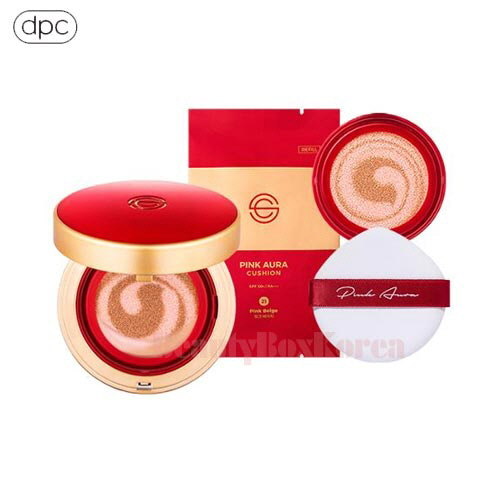 DPC Pink Aura Cushion Season 2 Set Red 15g*2ea