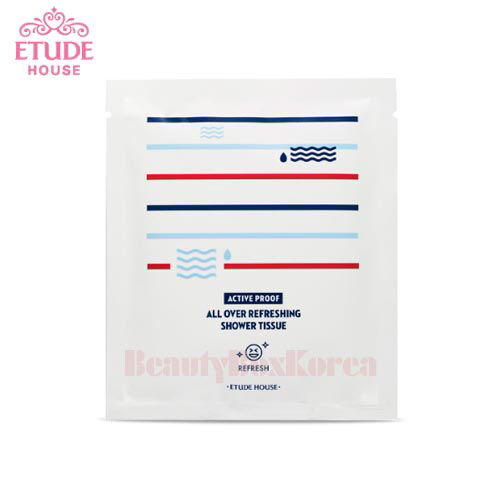 ETUDE HOUSE Active Proof All Over Refreshing Shower Tissue 21ml*10ea
