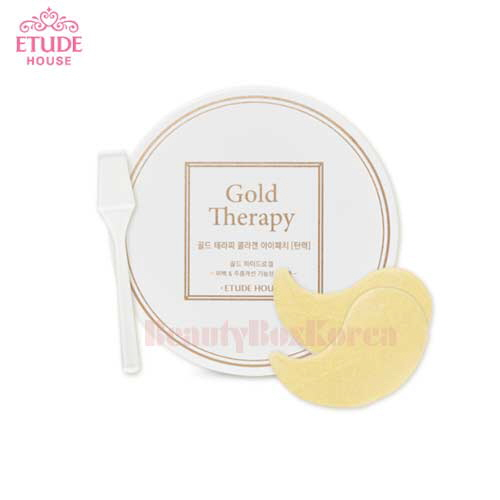 ETUDE HOUSE Gold Therapy Collagen Eye Patch 1.4g*60 [Firming]