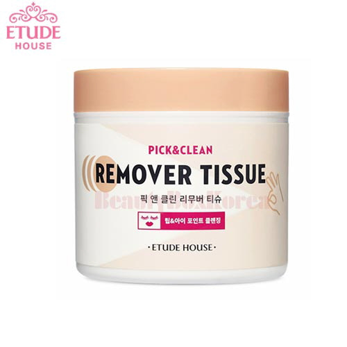 ETUDE HOUSE Pick & Clean Remover Tissue 80g (80ea)