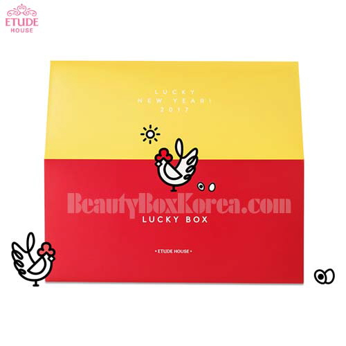 ETUDE HOUSE  Lucky Box Juicy 3.5g*Eyes 2g [Lucky New Year Collection]