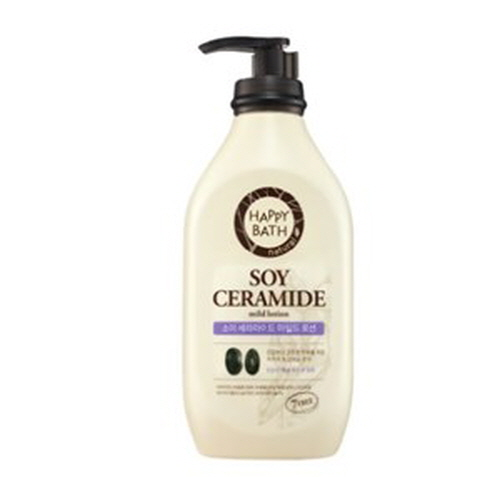 HAPPY BATH Soy Ceramide Mild Lotion 450ml, HAPPY BATH