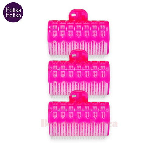 HOLIKAHOLIKA Magic Tool Hair Rollers With Clip 3ea
