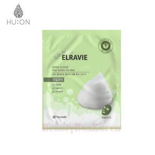 HU:ON Derma Elravie Clear Bubble Tox Mask 18g