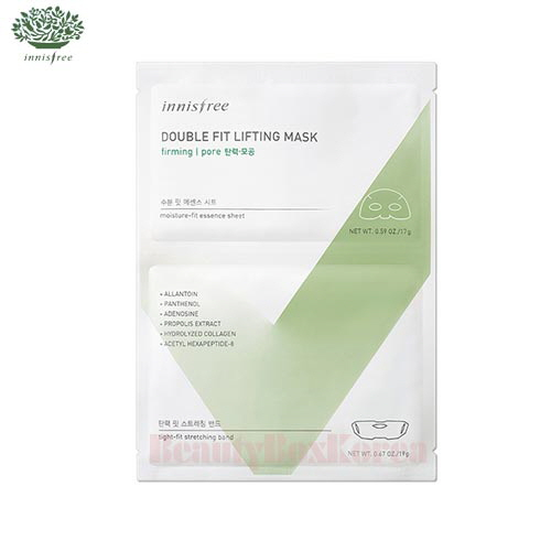 INNISFREE Double Fit Lifting Mask 17g+19g