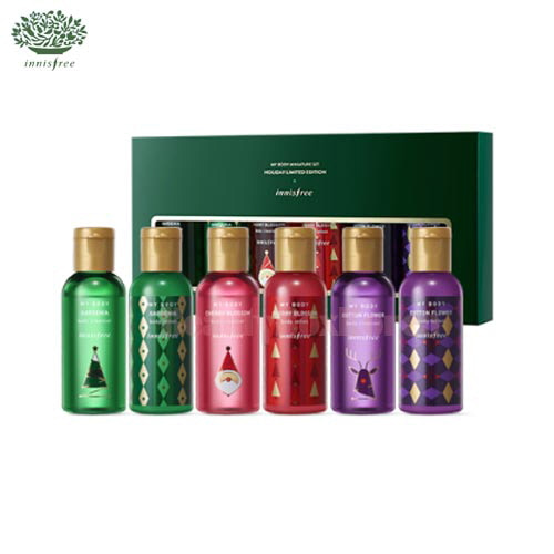 INNISFREE My Body Miniature Set 60ml*6 [2017 Christmas Limited Edition]