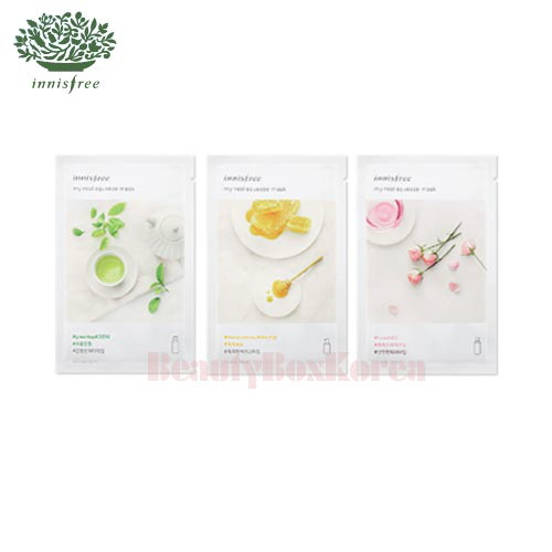 INNISFREE My Real Squeeze Mask 20ml*10ea