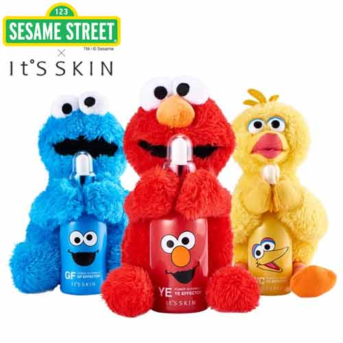 IT'S SKIN Power 10 Formula (Sesame Edition) 60ml with Sesame Street Doll, IT'S SKIN