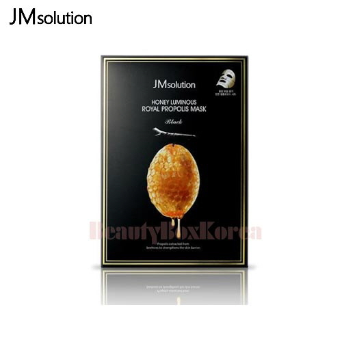JM SOLUTION Honey Luminous Royal Propolis Mask 30ml*10ea