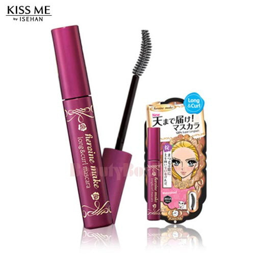 KISS ME Heroin Make Long & Curl Mascara 6g,KISS ME