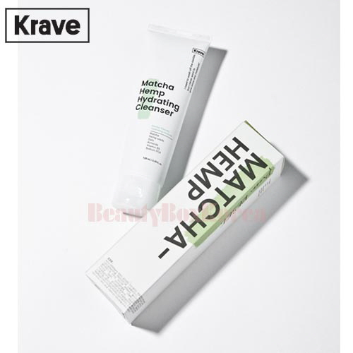 KRAVE Matcha Hemp Hydrating Cleanser 120ml