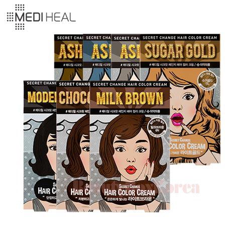Beauty Box Korea Mediheal Secret Change Hair Color Cream 50g 50g