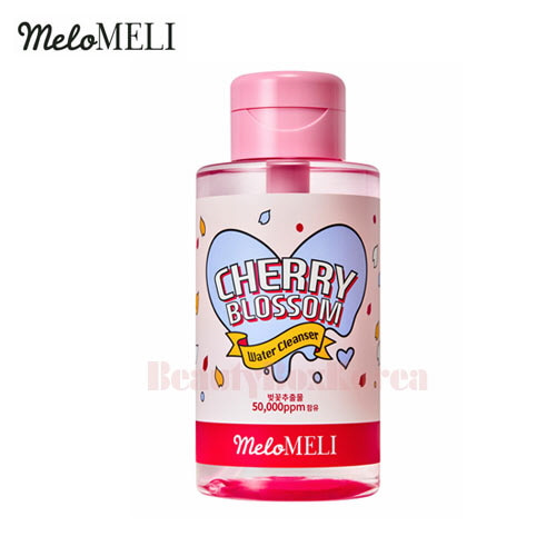 MElOMELI Cherry Blossom Water Cleanser 500ml,MELO MELI