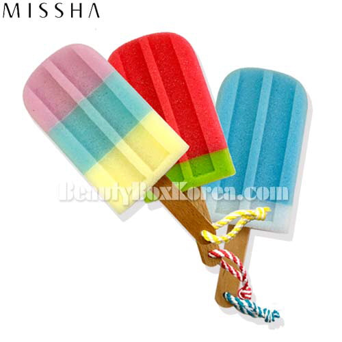 MISSHA Ice Cream Shower Sponge 1ea