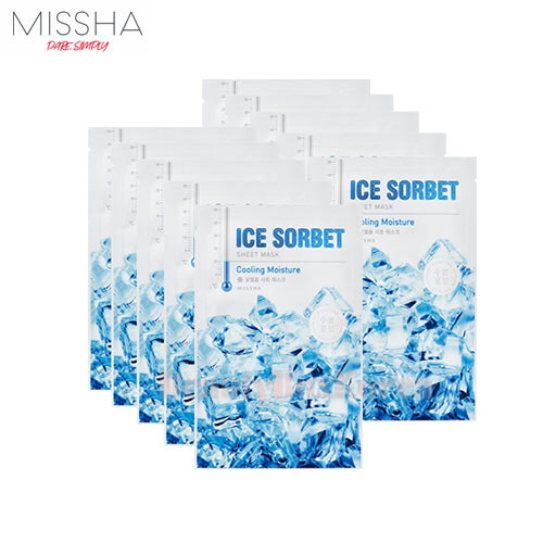 MISSHA Ice Sorbet Sheet Mask 30g*10ea