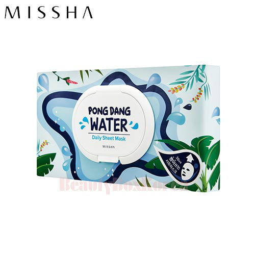 MISSHA Pong dang Water Daily Sheet Mask 350g/30ea