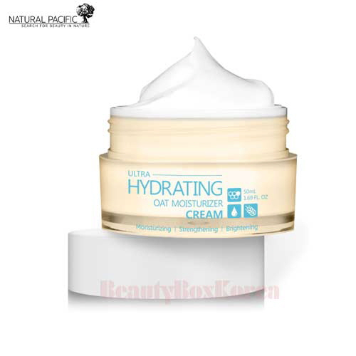 NATURAL PACIFIC Ultra Hydrating Oat Moisturizer Cream 50ml
