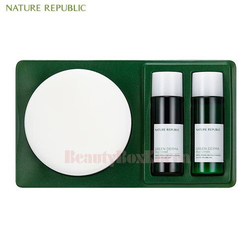 NATURE REPUBLIC Green Derma Mild Cream Set 3items