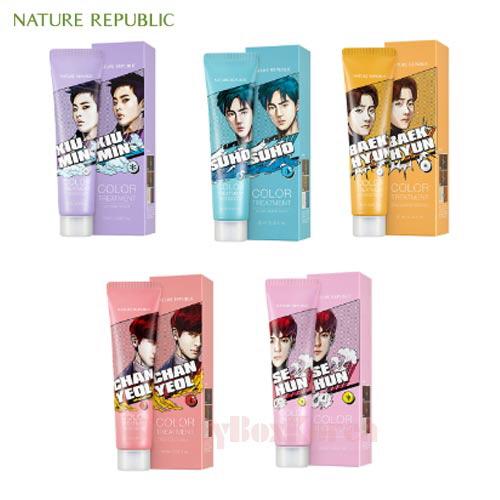 NATURE REPUBLIC Hair & Nature Color Treatment 60ml [EXO Edition]