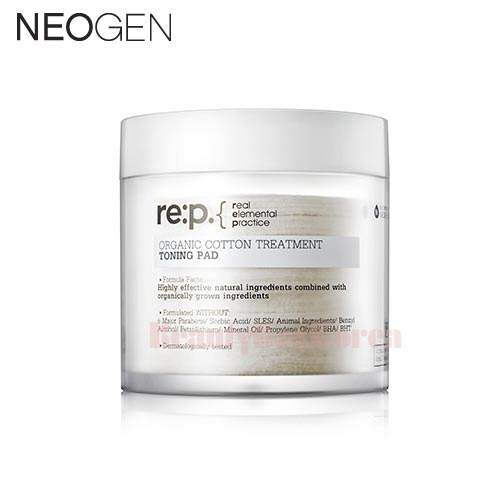 NEOGEN Re:p. Organic Cotton Treatment Toning Pad 130ml (90ea)