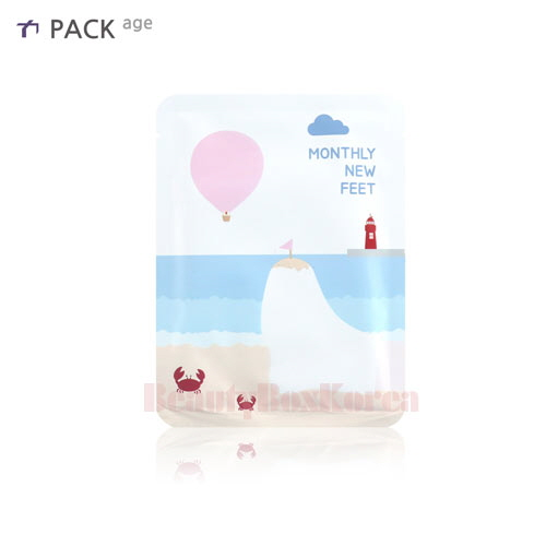 PACK AGE Monthly New Feet Foot Socks Pack 25ml,PACK AGE