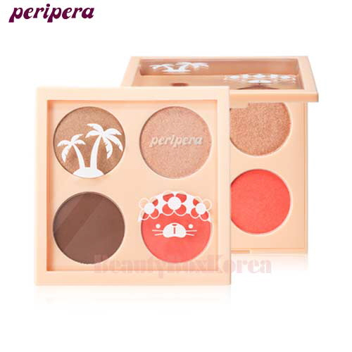 PERIPERA Ink Fitting Eyes 1.4g*4 [Perikiki Collection]