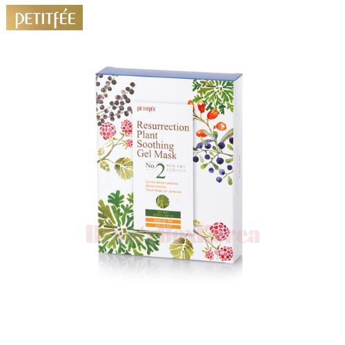 PETITFEE Resurrection Plant Soothing Gel Mask 30g*10ea